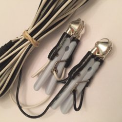 Ear clip electrodes