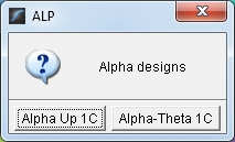 alpha selections