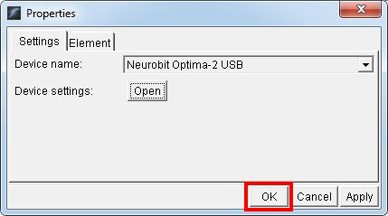 optima 2 usb selected